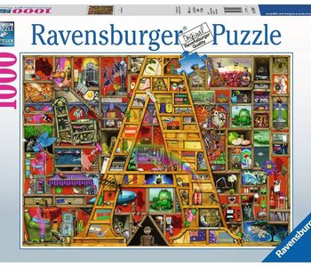 """Awesome Alphabet """"A"""" 1000pc Puzzle"""
