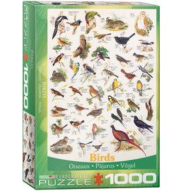 Eurographics Birds 1000pc Puzzle