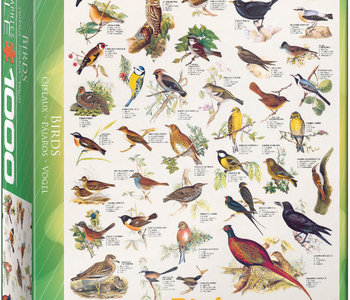 Birds 1000pc Puzzle