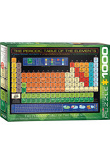 Eurographics The Periodic Table of the Elements 1000pc Puzzle