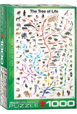 Eurographics Evolution The Tree of Life 1000pc Puzzle