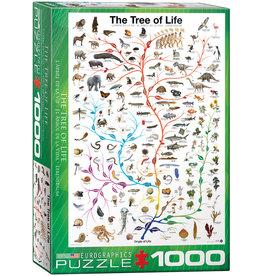 Eurographics Evolution The Tree of Life 1000pc Puzzle