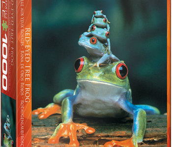 Red Eyed Tree Frog 1000pc Puzzle