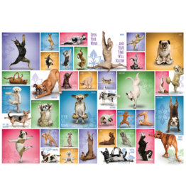 Eurographics Yoga Dogs 1000pc Puzzle