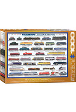 Eurographics Modern Locomotives 1000pc Puzzle