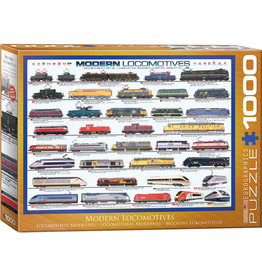Eurographics Modern Locomotives 1000pc Puzzle