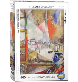 Eurographics Chagall's Paris Through the Window 1000pc Puzzle