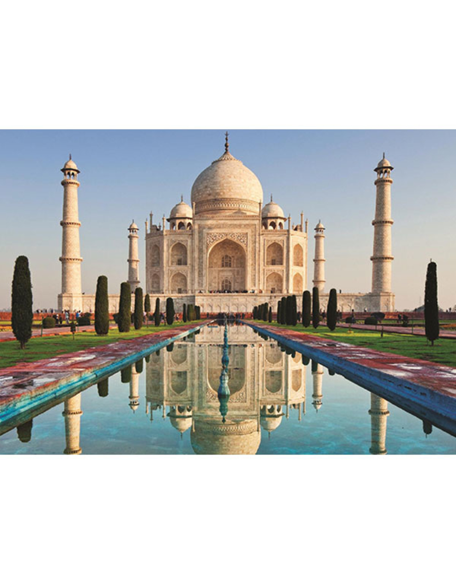 Jumbo Taj Mahal, India 1000pc Puzzle