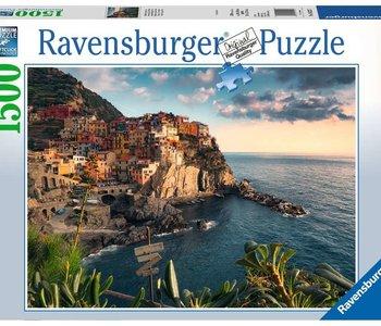 Cinque Terre Viewpoint 1500pc Puzzle
