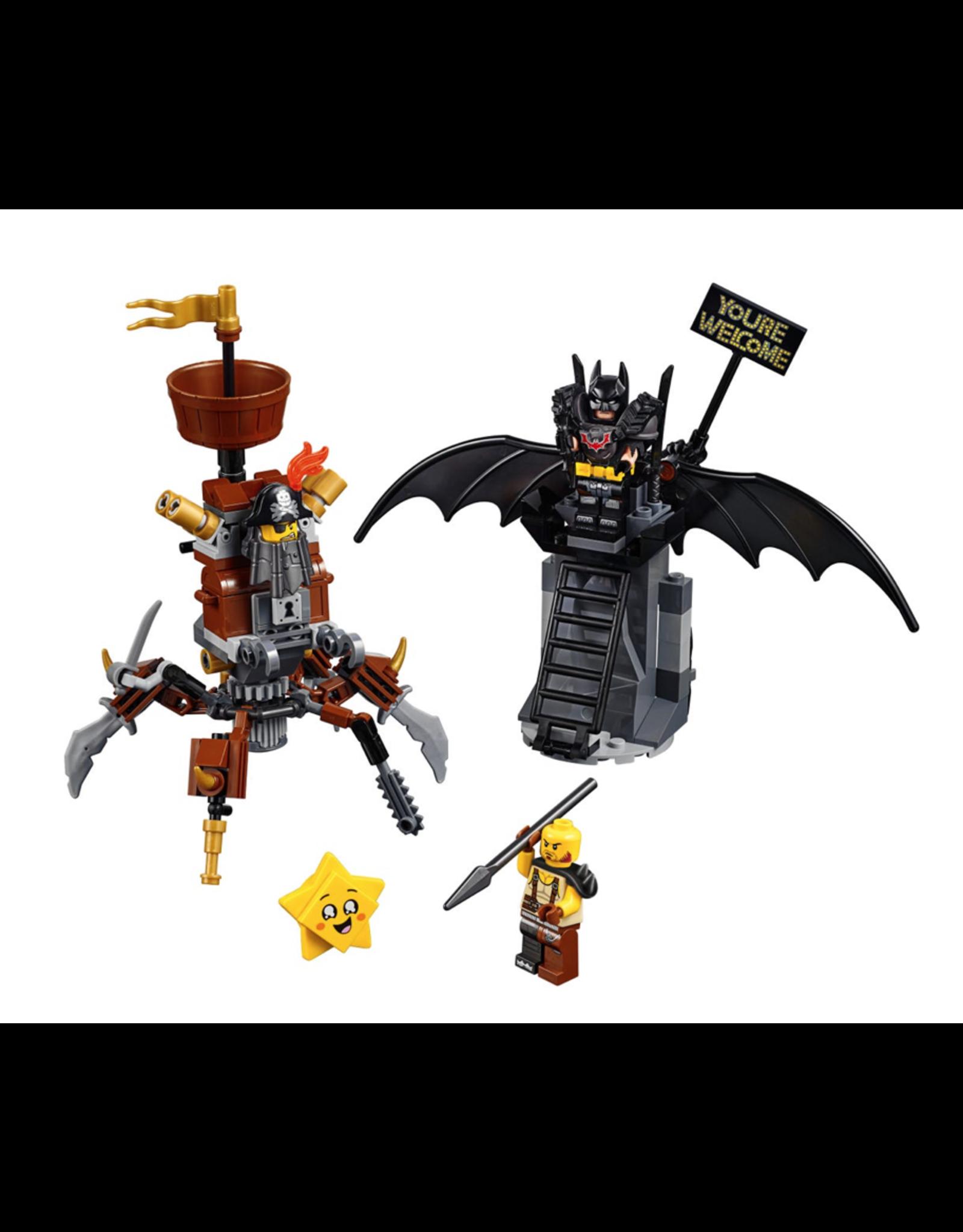 LEGO® LEGO® Movie 2 Battle-Ready Batman™ and MetalBeard