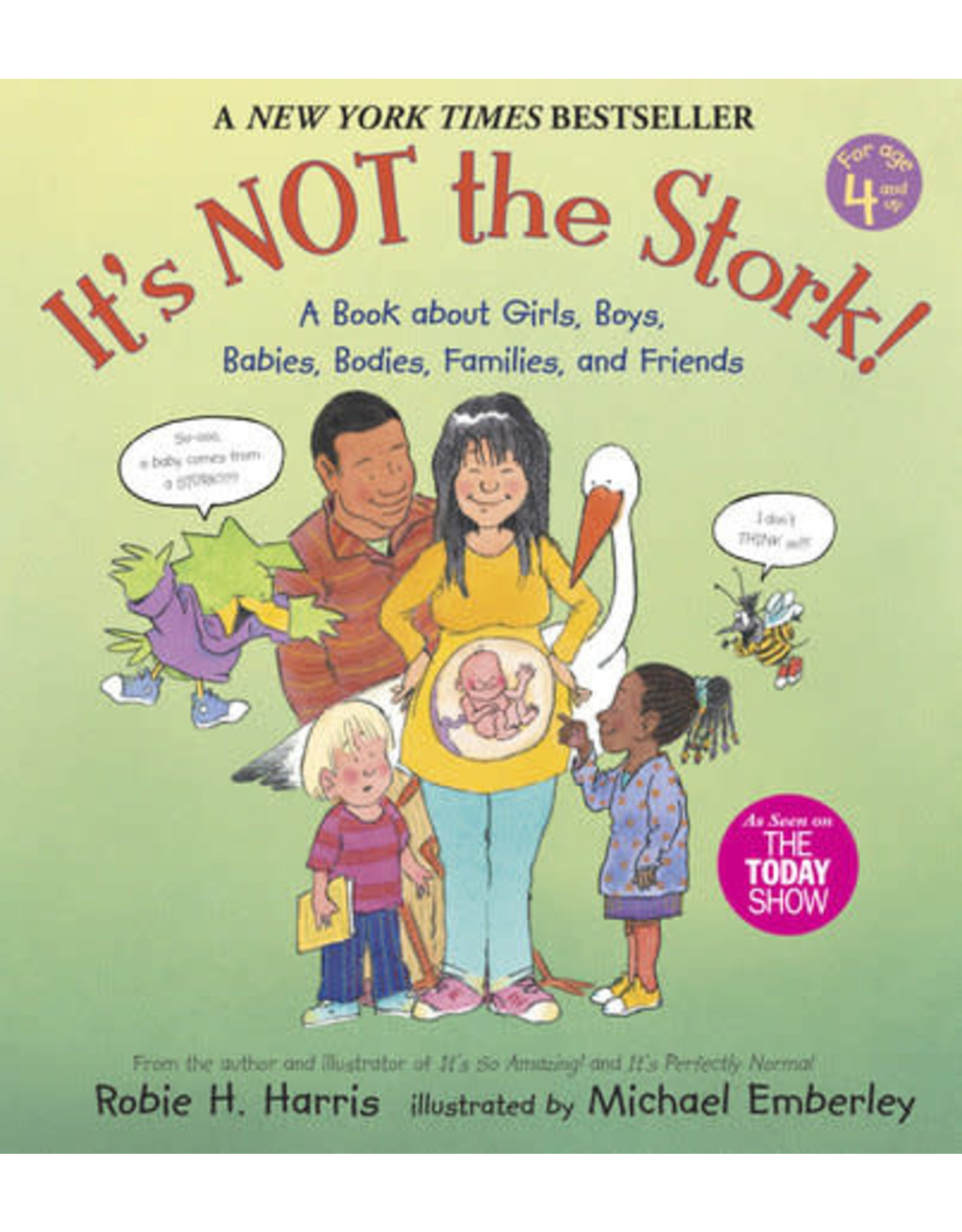 Candlewick It's Not the Stork!