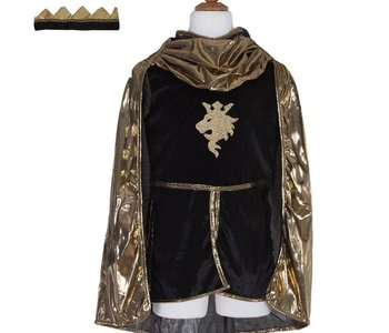 Golden Knight w Tunic, Cape & Crown Ages 5-6