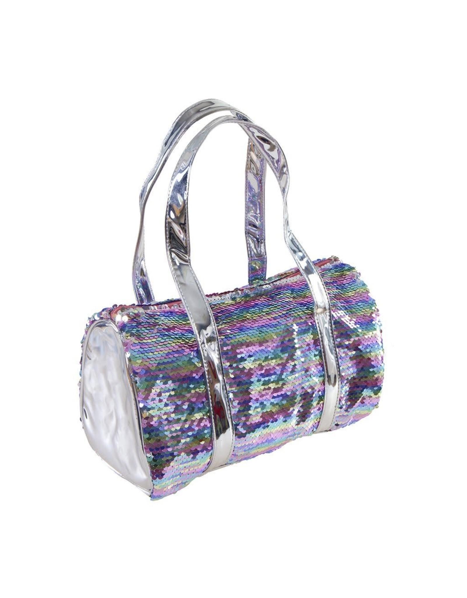 Great Pretenders Two Way Rainbow Sequin Bag