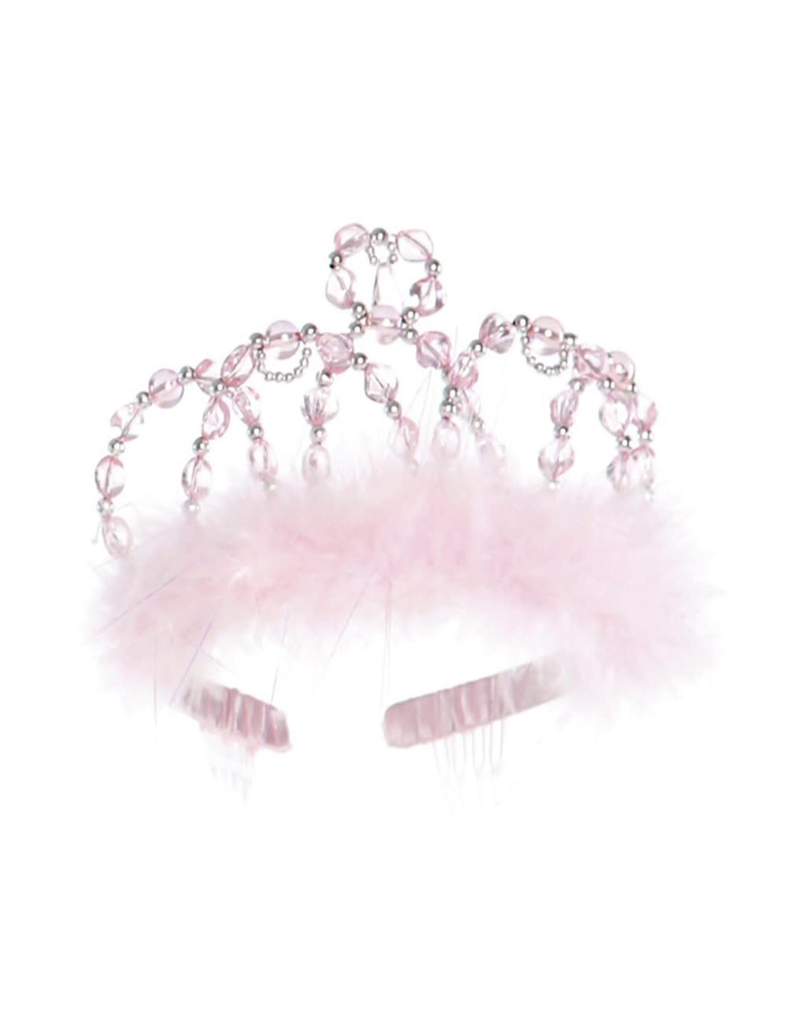 Great Pretenders Princess Tiara pink & silver