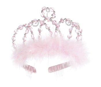 Princess Tiara pink & silver