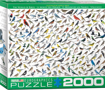 The World of Birds 2000pc Puzzle