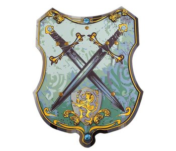 Blue Knight EVA Shield blue/gold