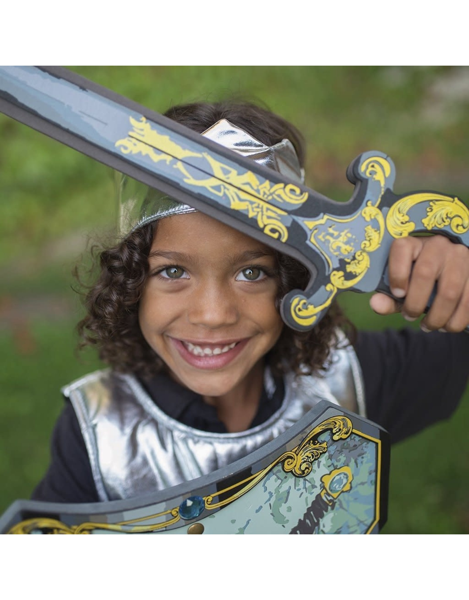 Great Pretenders Blue Knight EVA Sword blue/gold