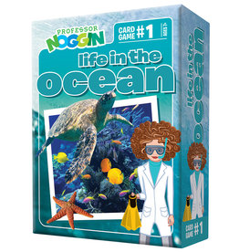 Professor Noggins Professor Noggins Life in the Ocean Trivia Card Game