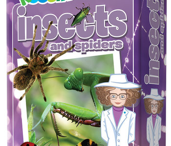 Professor Noggins: Insects & Spiders Trivia Card Game