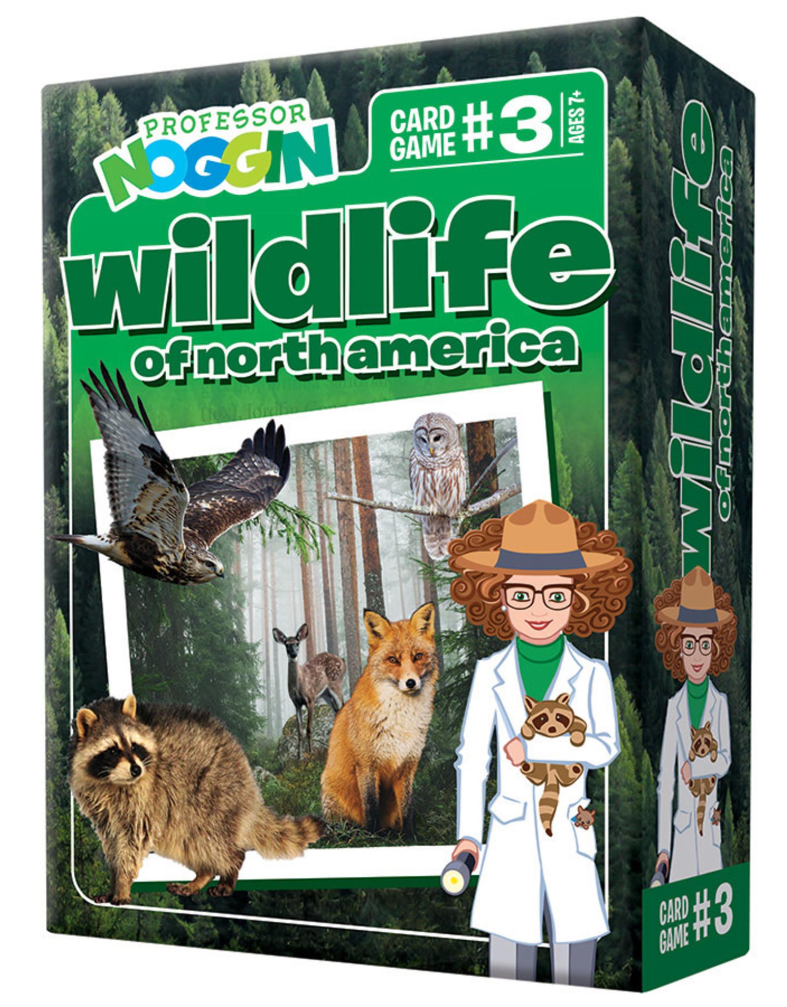 Professor Noggins Professor Noggins: Wildlife of North America