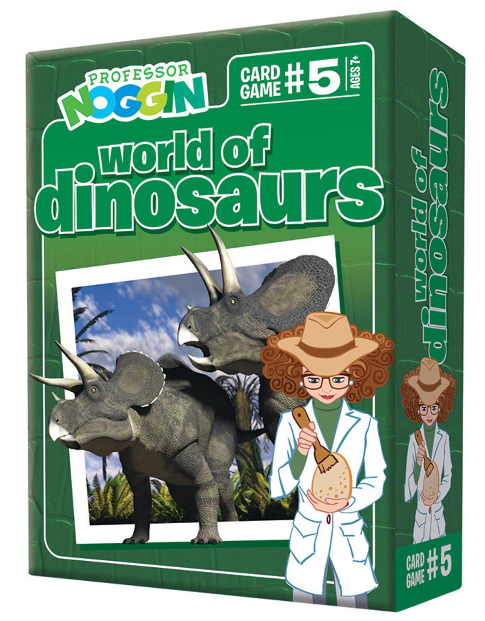 Professor Noggins Professor Noggins Dinosaurs Trivia Card Game