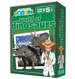 Professor Noggins Professor Noggins Dinosaurs Trivia Card Game