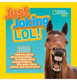 National Geographic Just Joking LOL! Joke Book