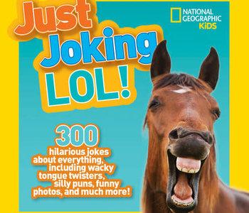 Just Joking LOL! Joke Book