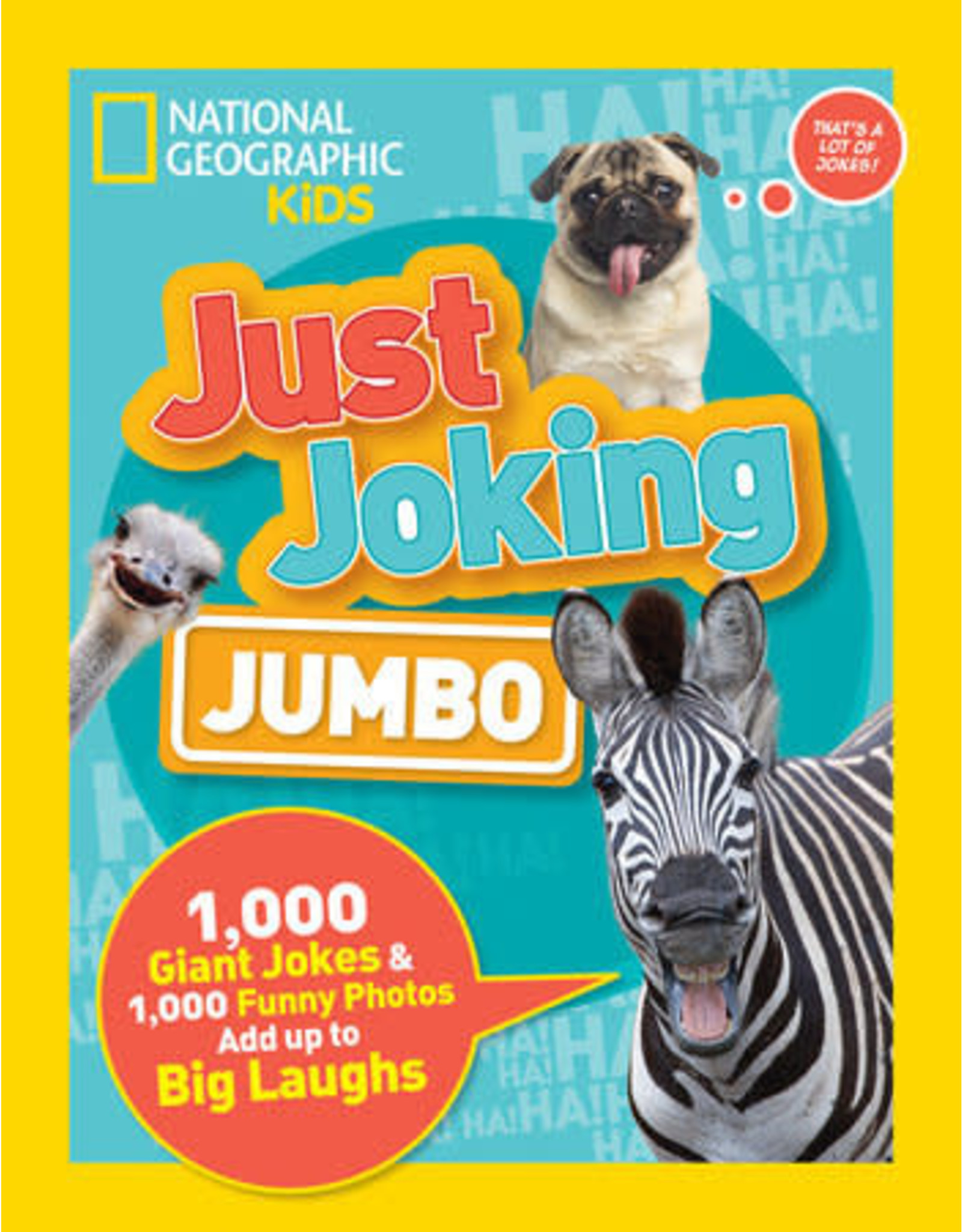 National Geographic Just Joking Jumbo Joke Book