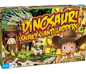 Dinosaur Snakes & Ladders Game