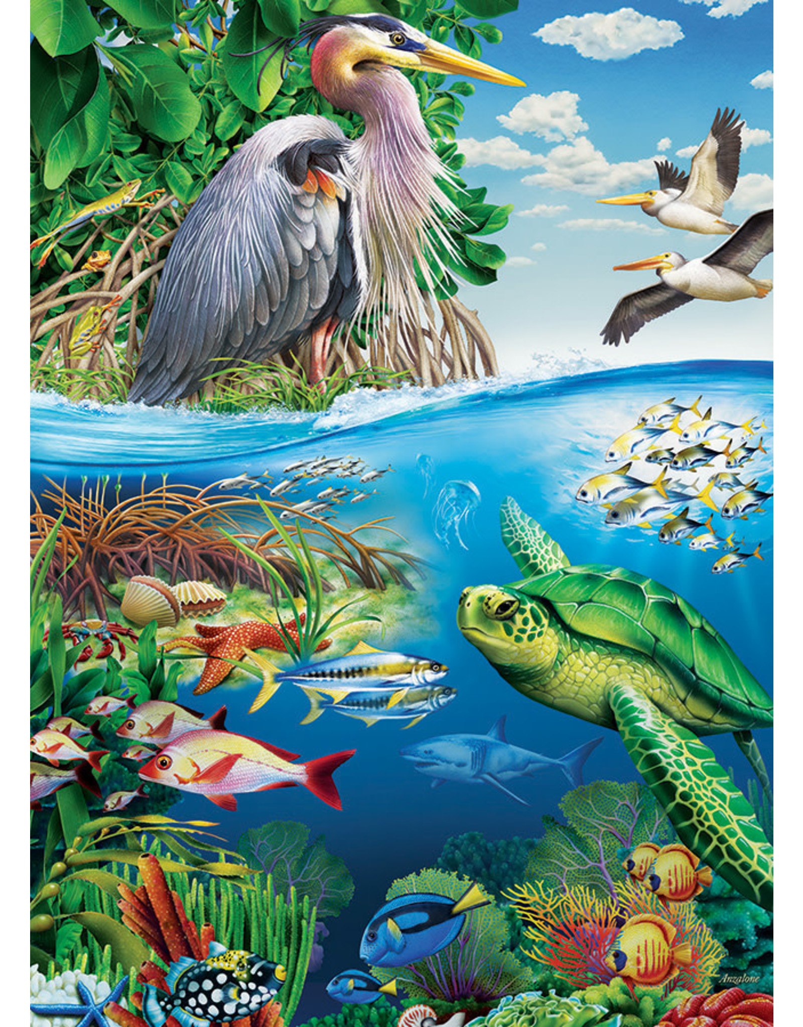 Cobble Hill Earth Day 350pc Family Puzzle