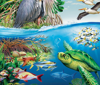 Earth Day 350pc Family Puzzle