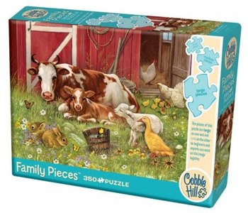 Barnyard Babies 350pc Family Puzzle