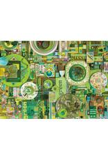 Cobble Hill Green 1000pc Puzzle