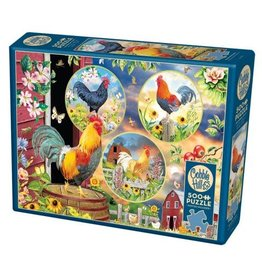 Cobble Hill Rooster Magic 500pc Puzzle