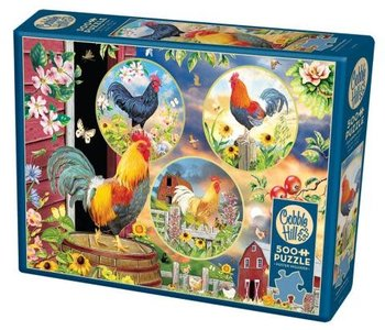 Rooster Magic 500pc Puzzle