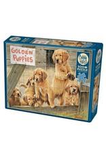 Cobble Hill Golden Puppies 500pc Puzzle