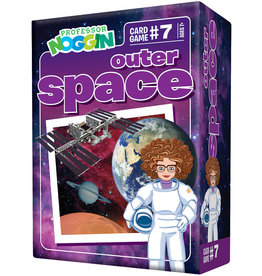 Outset Media Professor Noggins Outer Space Trivia Card Game