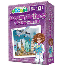 Outset Media Professor Noggins Countries of the World Trivia Card Game