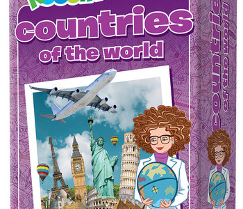 Professor Noggins Countries of the World Trivia Card Game