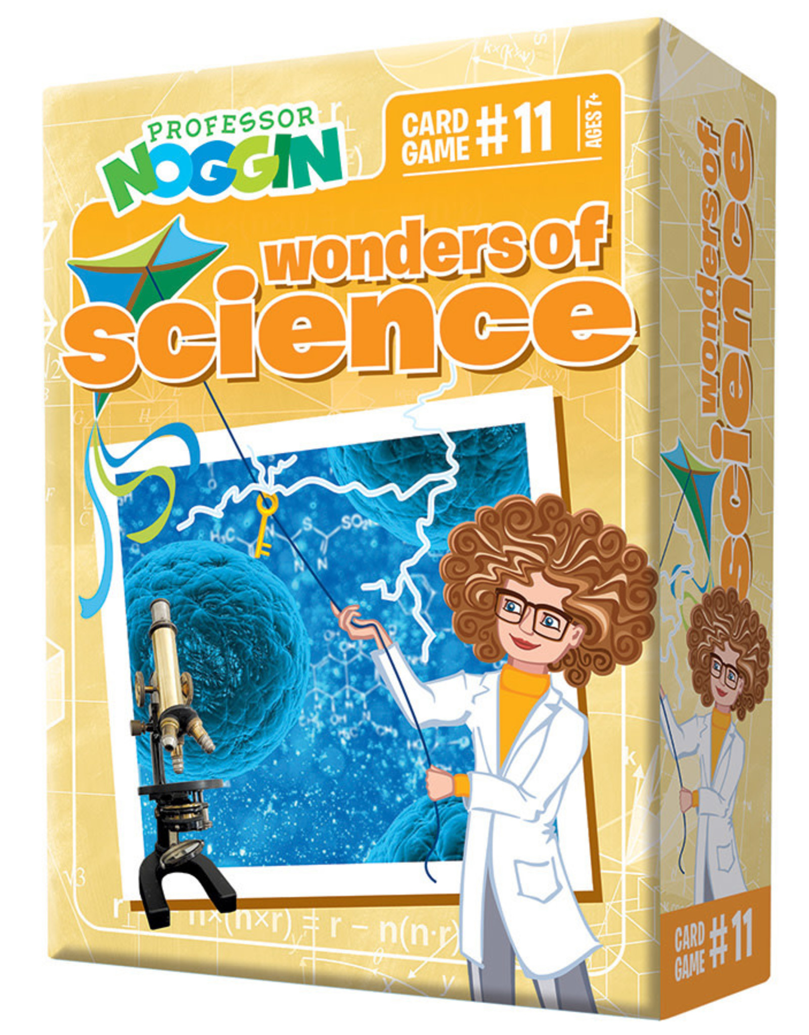 Outset Media Professor Noggins Wonders of Science Trivia Card Game