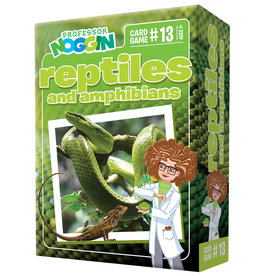 Outset Media Professor Noggins: Reptiles and Amphibians Trivia Card Game
