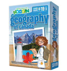 Outset Media Professor Noggins Geography of Canada Trivia Card Game