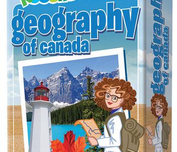 Professor Noggins Geography of Canada Trivia Card Game