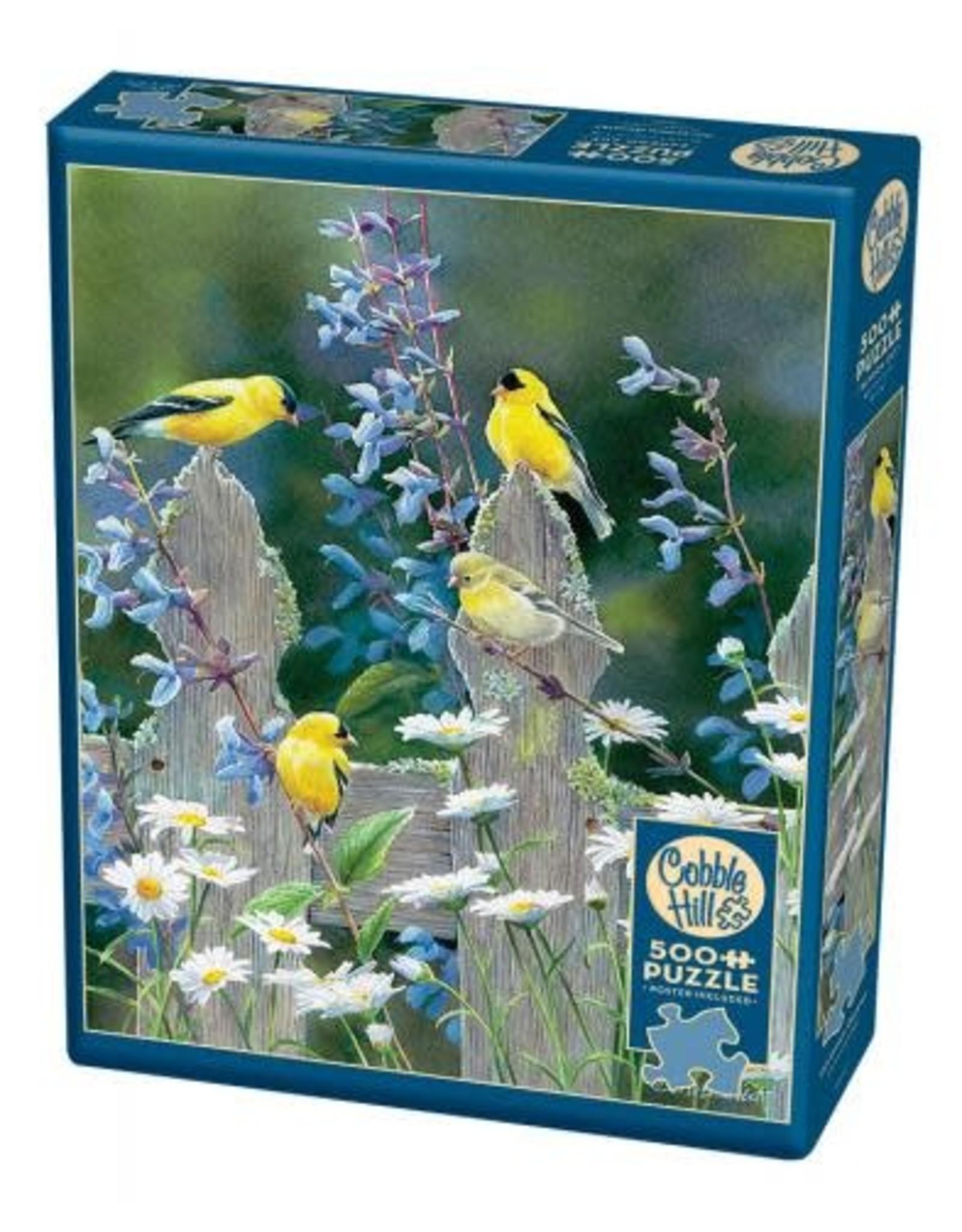 Cobble Hill Goldfinch Quartet 500pc Puzzle