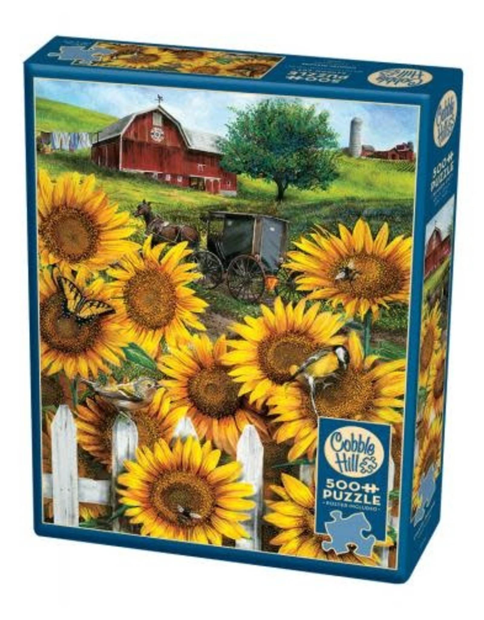 Cobble Hill Country Paradise 500pc Puzzle