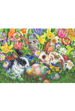 Cobble Hill Easter Bunnies 500pc Puzzle