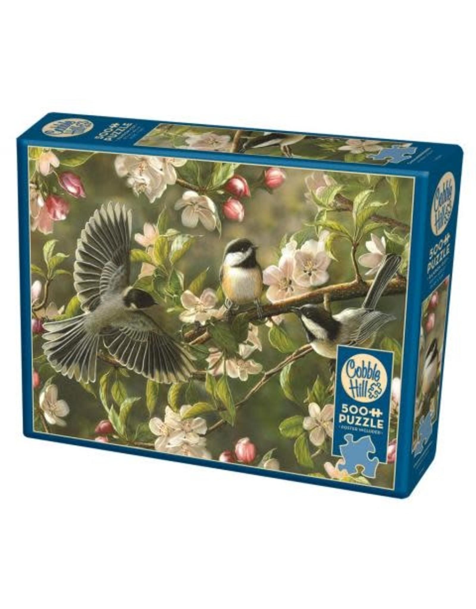 Cobble Hill Chickadeedeedees 500pc Puzzle