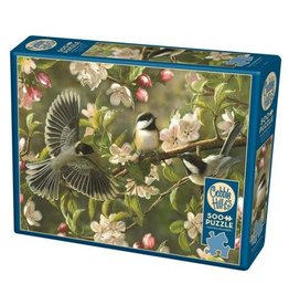 Cobble Hill Chickadeedeedees 500pc Puzzle